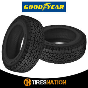 2 New Goodyear Wrangler Trailrunner At 245 65 17 107t Precise Traction Tires