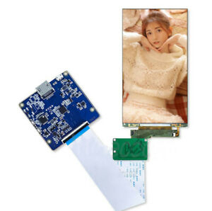5 5 4k 3840 2160 Lcd Panel With Hdmi To Mipi Board For 3d Printer Vr Ar Display