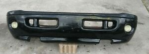 Message Before Buying Front Bumper Sport Package 99 00 01 02 Dodge Ram Black