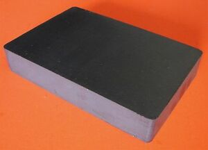 2 Ceramic Magnets 6 X 4 X 1 Block C8 Applied Magnets