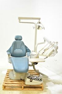 Marus Blue Dental Exam Chair Operatory Set up Package Caregiving Furniture