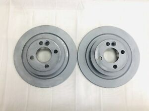 Rear Brake Disc 280x10mm Rotors For 09 15 Mini Cooper Zimmermann 150348920 Used