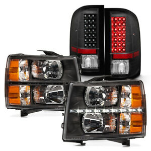 2007 2013 Chevy Silverado 1500 2500 3500 Led Drl Headlights Led Tail Lights Lamp