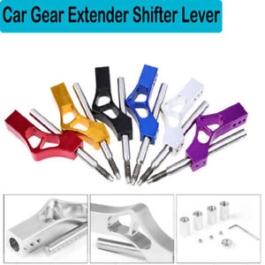 Car Gear Shift Knob Shifter Lever Extender Extension Universal For Honda Ford