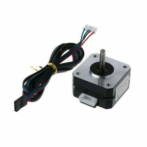 12v Step Motor 4 Lead Cables Replacement 42x42x23mm For Nema 17 Electric