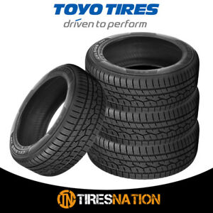 4 New Toyo Celsius Cuv 235 55 19 105v Touring All Season Traction Tires