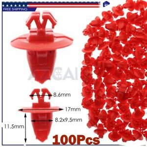 100pcs Fender Flare Moulding Retainer Clips For Toyota Toyota Land Cruiser