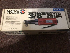 New Matco Tools 3 8 Wobble Mini Air Ratchet