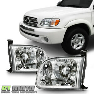 For 2000 2004 Toyota Tundra Pickup Truck Regular access Cab Headlights Headlamps