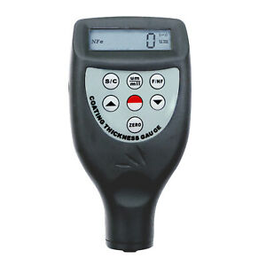 Coating Thickness Meter Built in F Fn Probe Magnetic Induction Eddy Current