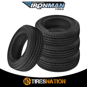 4 New Ironman All Country Cht 235 80 17 120 117r All Season Tire