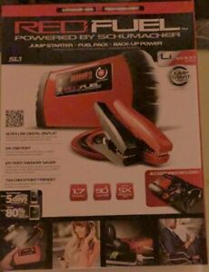 New Schumacher Red Fuel Power Jump Starter Booster Packs Backup Power More