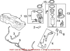 Genuine Oem Fuel Tank Sending Unit And Fuel Filter Assembly For Mini 16112755084