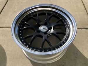 1 19 Jdm Ssr Professor Ms3 3pc Wheel 19x9 5 5x114 3 10