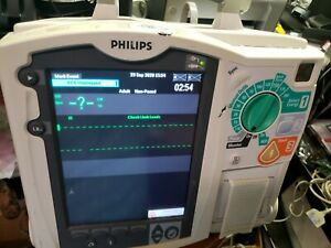 Philips Heartstart Mrx Ecg Spo2 Tested passed No Battery pads ac Adapter