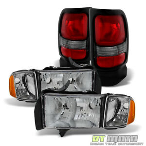 1999 2002 Dodge Ram Headlights tail Lights Lamps Left right 2000 2001 99 02