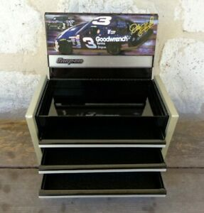 Vintage Snap On Dale Earnhardt Sr Mini Miniature Tool Box Goodwrench 3