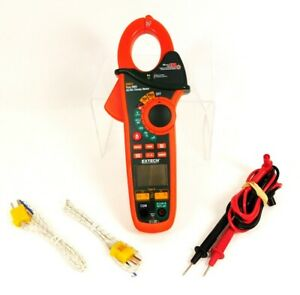 Extech True Rms 400a Ex623 Ac dc Clamp Meter With Case