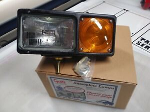 Western Snow Plow Light Replacement Driver Side Plow Light