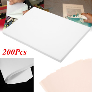 200pc A4 Sublimation Heat Transfer T shirts Iron on Paper For Light White Fabric