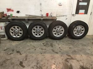 2012 Gmc Seirra Stock Rims And Tires
