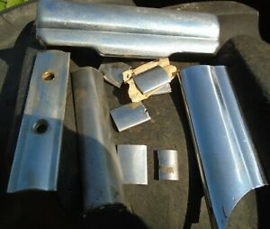 Vintage 1949 Mercury Dash Parts And Stainless Clips