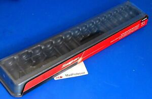 Snap on Storage Tray 1 2 Drive 15 Piece Shallow Metric Impact Socket Set New