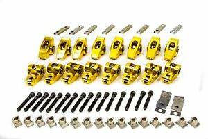 Crane 1 6 Gold Race Roller Rocker Arms Small Block Ford 16 Pc P N 36759 16