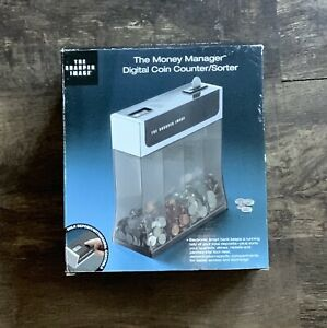 The Money Manager Digital Coin Counter sorter