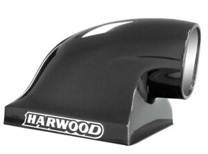 Harwood 17 In Tall Black Fiberglass Dragster Scoop Hood Scoop P N 3150