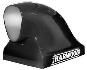 Harwood 16 In Tall Black Fiberglass Dragster Scoop Hood Scoop P N 3156