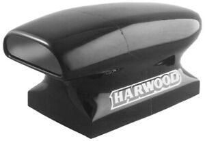 Harwood 12 In Tall Black Fiberglass Dragster Scoop Hood Scoop P N 3153