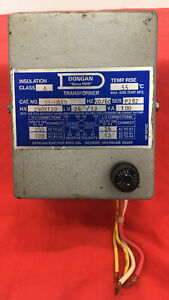 Dongan single Phase General Purpose Transformer 35 m010 see Pictures For Detail