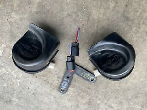 03 07 Honda Accord Horn Set 2 4l L4 At Oem High And Low Tone