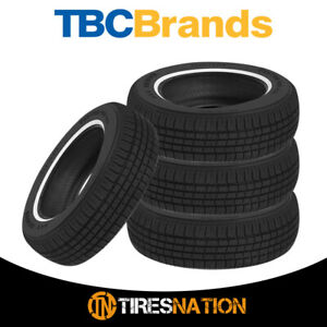 4 New Tbc Brand Custom 428 A S 215 75r15 100s 440 Aa Tire