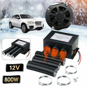 Windscreen 800w 12v Car Truck Fan Heater Heating Air Warmer Defroster Demister