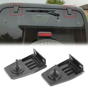 For Jeep Wrangler Yj Tj 87 06 Hardtop Liftgate Glass Hinges Stainless 50516
