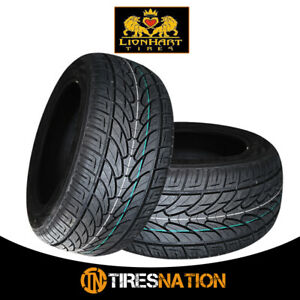 2 New Lionhart Lh Ten 295 25r28 103w High Performance All Season Tires