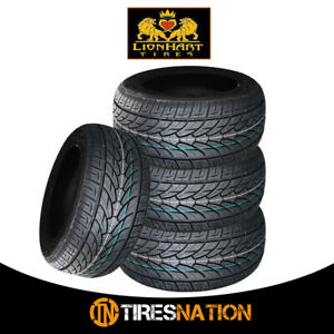 4 New Lionhart Lh Ten 295 25r28 103w High Performance All Season Tires
