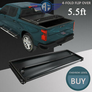 Soft Lock 4 Fold Tonneau Cover 5 5ft Short Truck Bed For Nissan Titan 2004 2015