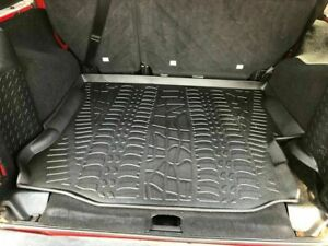 Rear Trunk Liner Floor Mat Cargo Tray Pad For Jeep Wrangler 2007 2018 Used