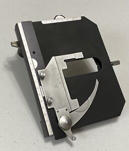 Nikon Mechanical Microscope Stage With Slide Holder