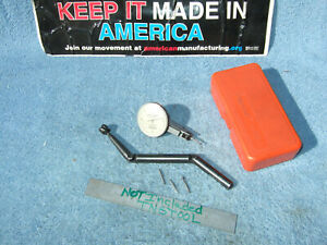 Moore Tool Co 3056a Jig Bore Used Dog leg With Swiss 0001 Indicator Machinist