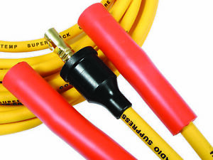 Accel 4038 Spark Plug Wire Set Yellow