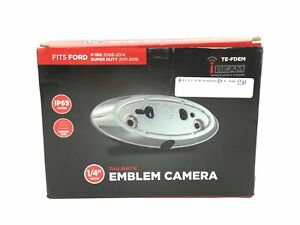 Ibeam Te fdem Emblem Back up Camera For Ford F 150 08 14 Super Duty 11 16
