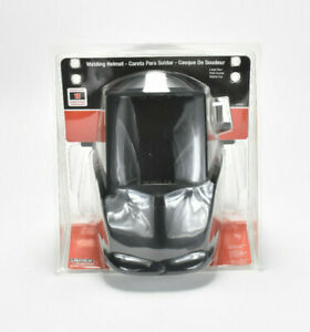 new Lincoln Electric Welding Helmet With No 10 Lens 4 1 2 In X 5 1 4 In