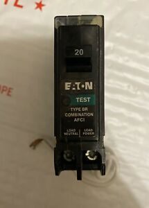 Eaton Brn120af Br Combination Afci Circuit Breaker 20 Amp