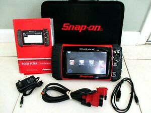 Snap On Solus Ultra Diagnostic Full Func Scanner Dom Asian Euro 80s To 2020