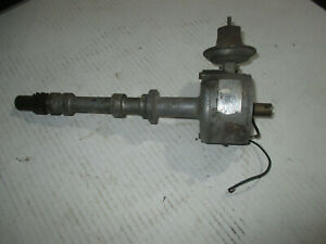 Vintage Mallory Accel Dual Point Chevy Small Block Distributor