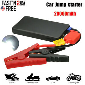 20000mah Car Jump Starter Portable Usb Power Bank Battery Charger Booster Clamp